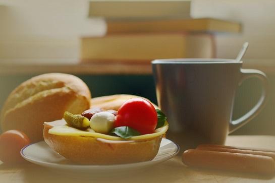 Snack Roll Sandwich Breakfast Start The Day Break